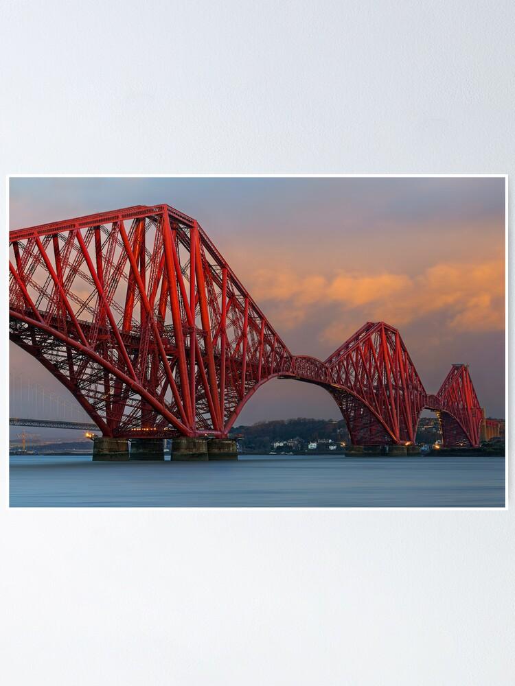 Alternate view of Forth Bridge (2) Poster