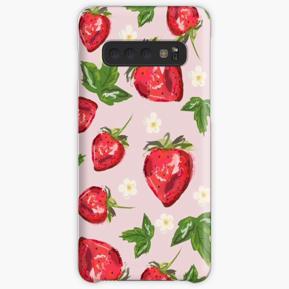 Strawberry Botanical Case & Skin for Samsung Galaxy