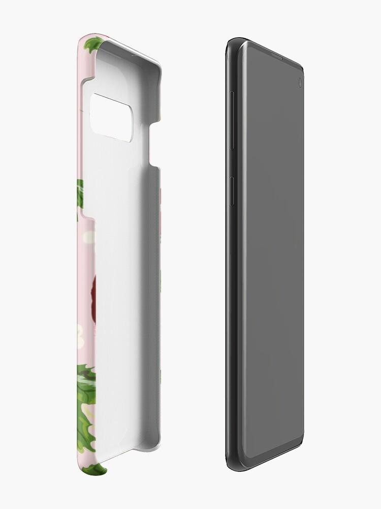 Alternate view of Strawberry Botanical Case & Skin for Samsung Galaxy