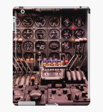 WWII Airplane Cockpit iPad Case/Skin