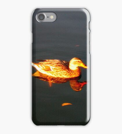 Golden Reflection iPhone Case/Skin