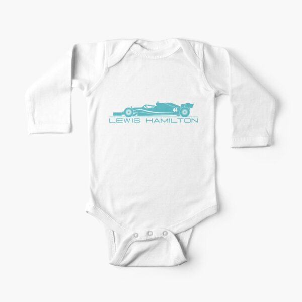 LEWIS CAR Long Sleeve Baby One-Piece