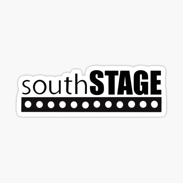 South Stage Sticker