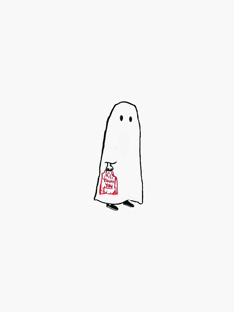 Little Shopping Ghost by saz-
