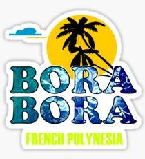Bora Bora Beach Sticker