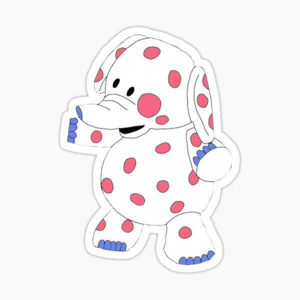 Spotted Elephant - Rudolph Misfit Toys Sticker