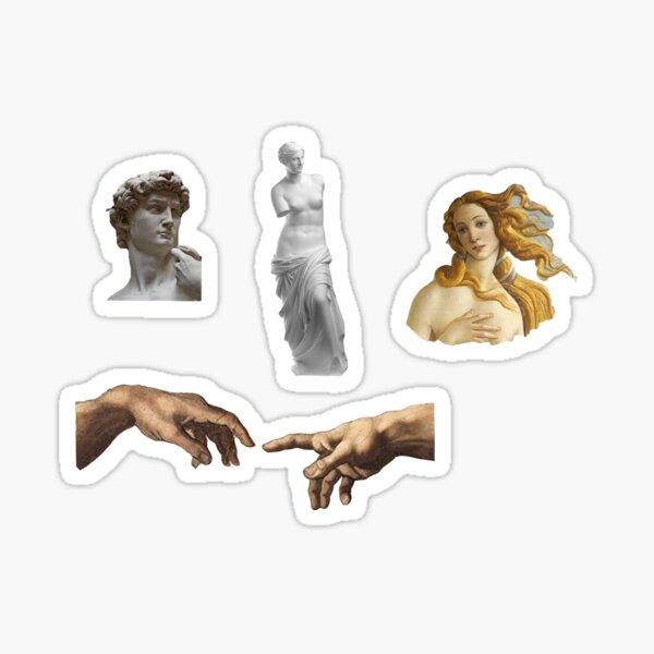 Classical Art Sticker Pack Sticker