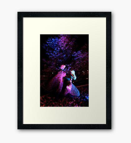 Floral Romance Framed Print
