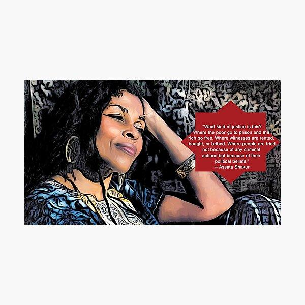 Assata Shakur Photographic Print