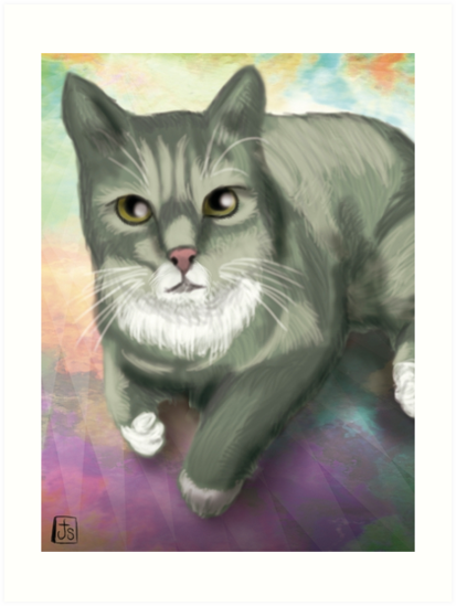 Potter the Cat by Bloodysender