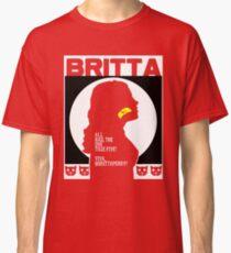 Britta - Meow Meow Beenz Poster Classic T-Shirt