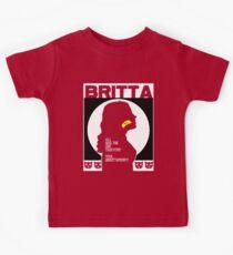 Britta - Meow Meow Beenz Poster Kids Tee