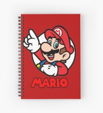 Mario Bubble Spiral Notebook
