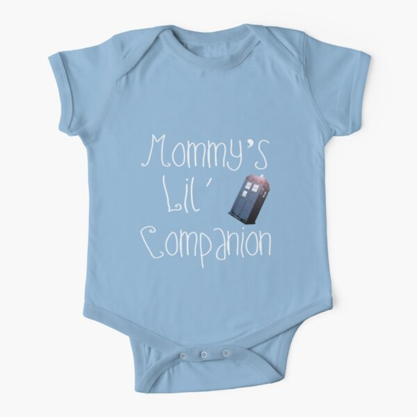 Mommy's Lil Companion Short Sleeve Baby One-Piece