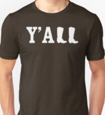 Y'all Boots Slim Fit T-Shirt