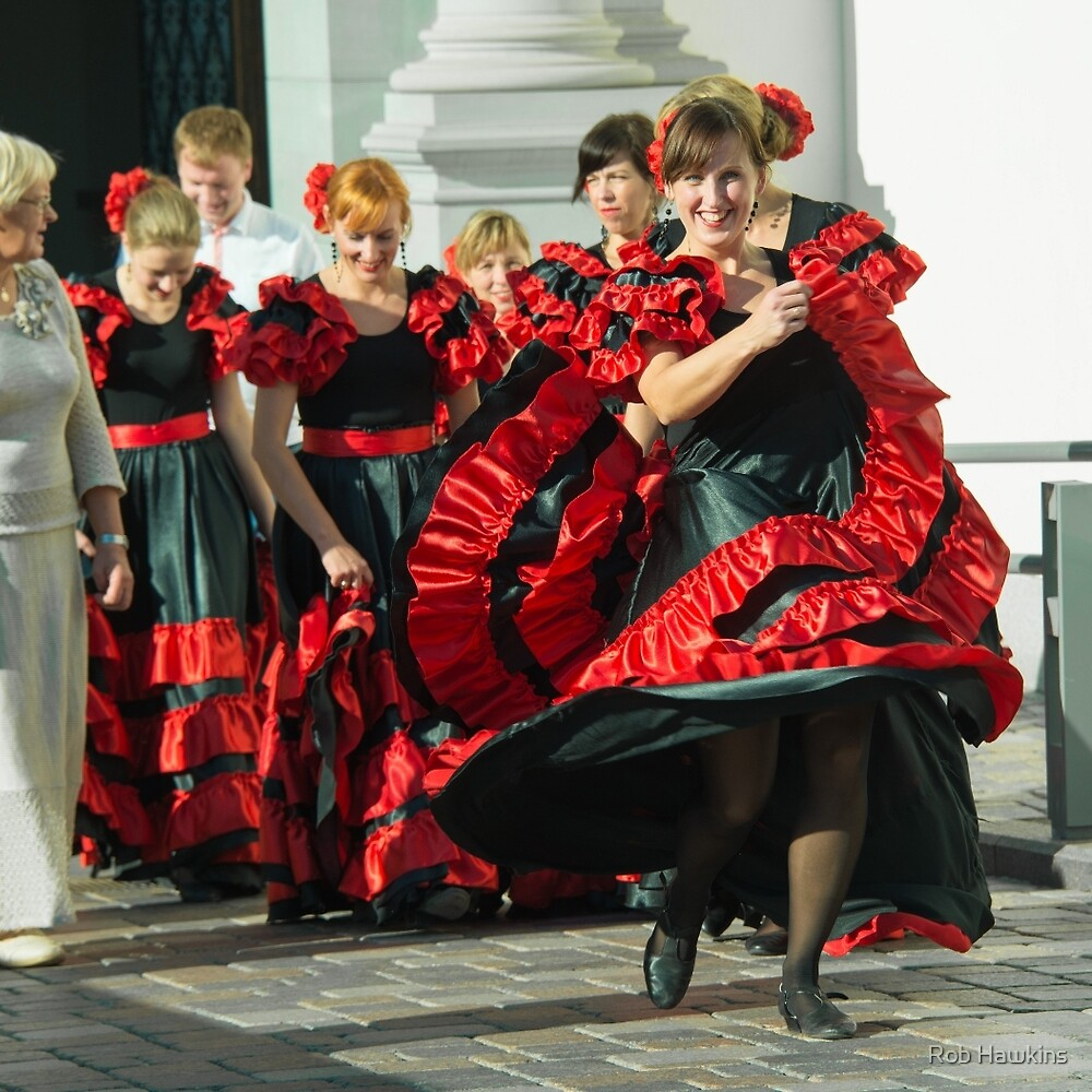 Lithuanian Bridesmaids  by Rob Hawkins