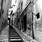 Spoleto Street Stairs by ChaosGate