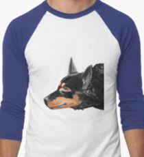 Australian Kelpie Black Portrait T-Shirt