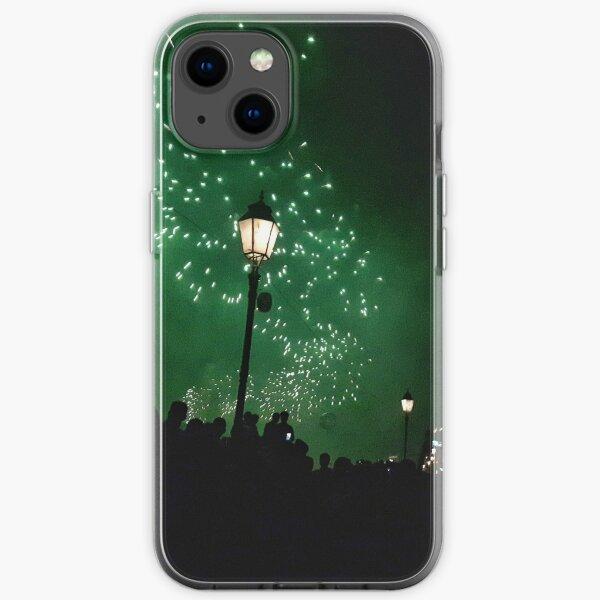 Fireworks Pisa festival iPhone Soft Case