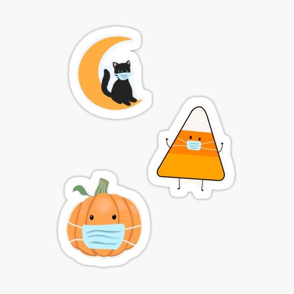 Halloween Mask Sticker Set Sticker