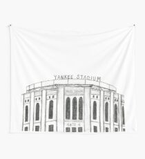 Yankee Stadium Wall Tapestry