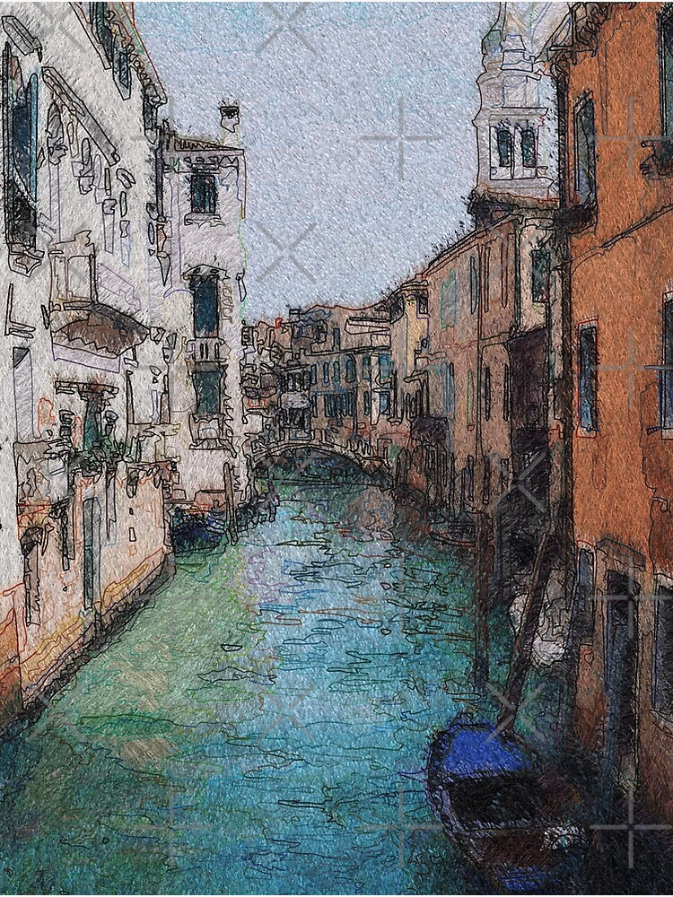 Venice View Over Canal by carlarmes