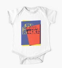Old School Rocks Pop Art One Piece - Short Sleeve