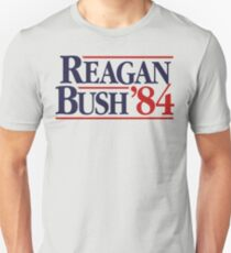 Reagan/Bush '84 Slim Fit T-Shirt