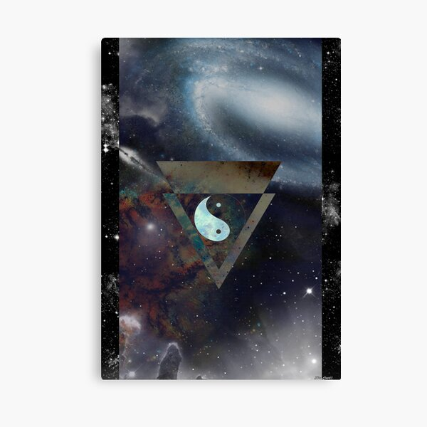Peace Out Poster Canvas Print