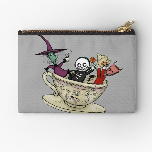 Boogie's Boys Mad Tea Party Zipper Pouch