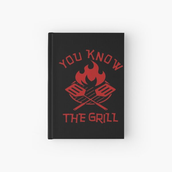 Barbeque Lover - Bbq Lover - Grillmaster Hardcover Journal