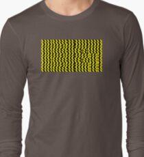 black yellow Long Sleeve T-Shirt