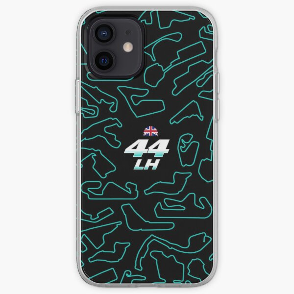 LH 44 - Circuits Pattern iPhone Soft Case
