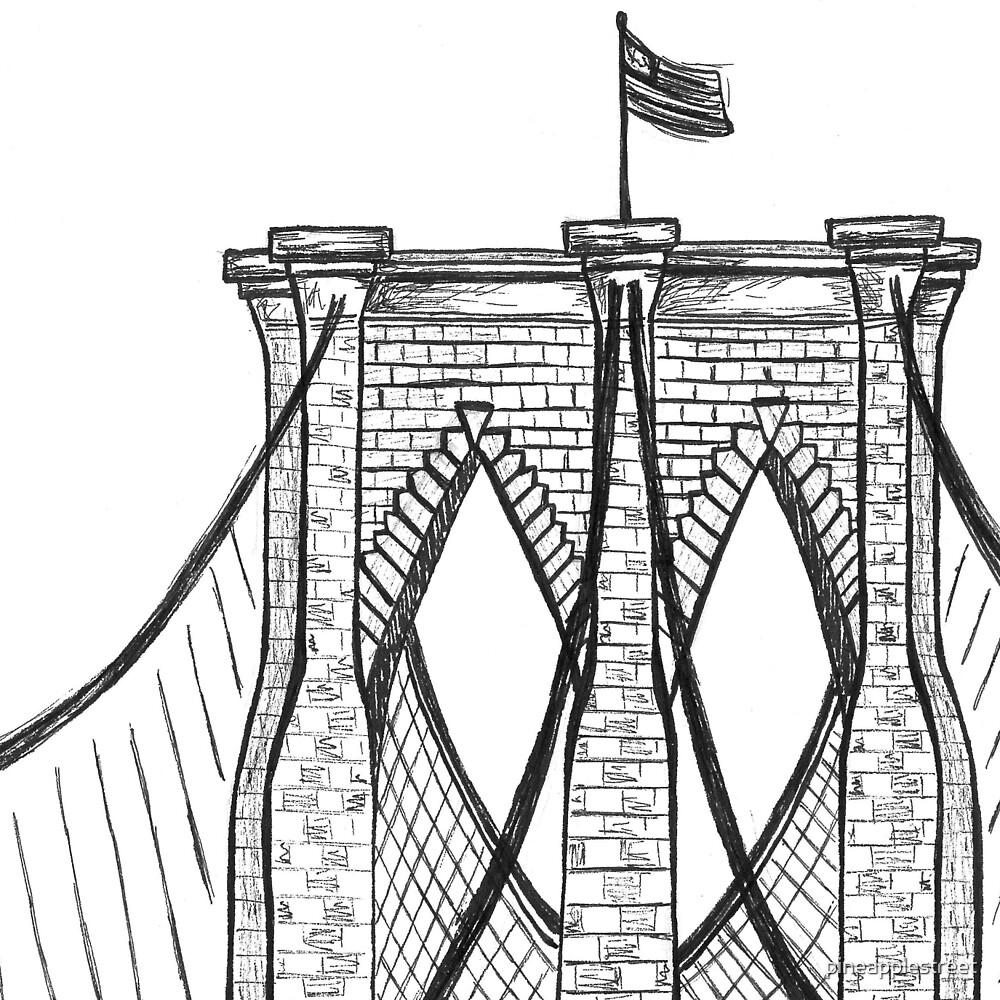 Brooklyn Bridge by pineapplestreet