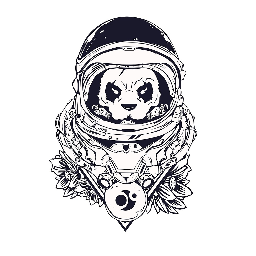 Space Panda by shizo