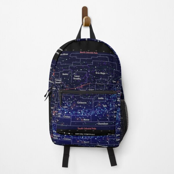 Portable Constellation Map Backpack