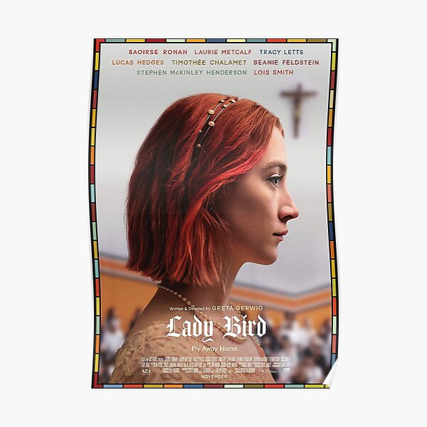 Lady Bird Poster Poster