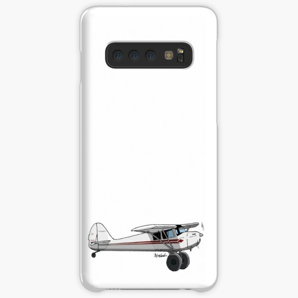 Taylorcraft Red and White Samsung Galaxy Snap Case