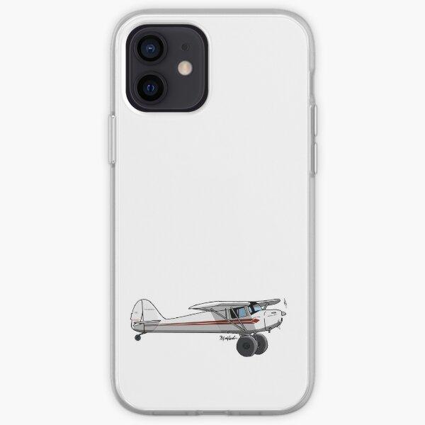 Taylorcraft Orange and White iPhone Soft Case