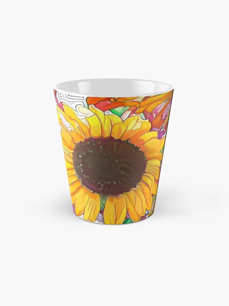 Alternate view of  The Sunflower-Sunflower-Sunflower Fields-Sunflower Seeds Mug
