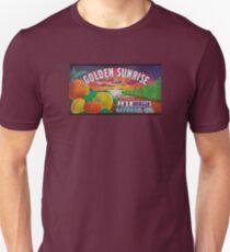 Golden Sunrise Fruit Label T-Shirt