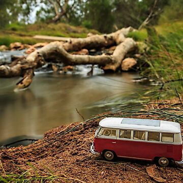Little Red Combi ~ Riverside  by BlueChairGal