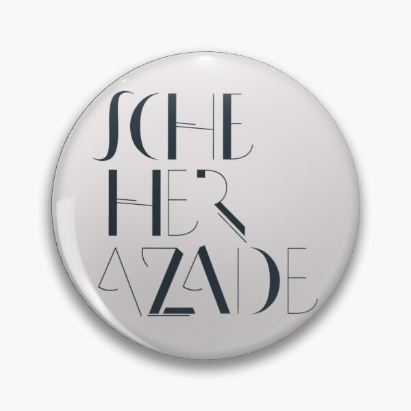 The Scheherazade Pin Pin