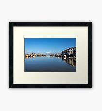 Maryport Harbour & Ritson Wharf Framed Print