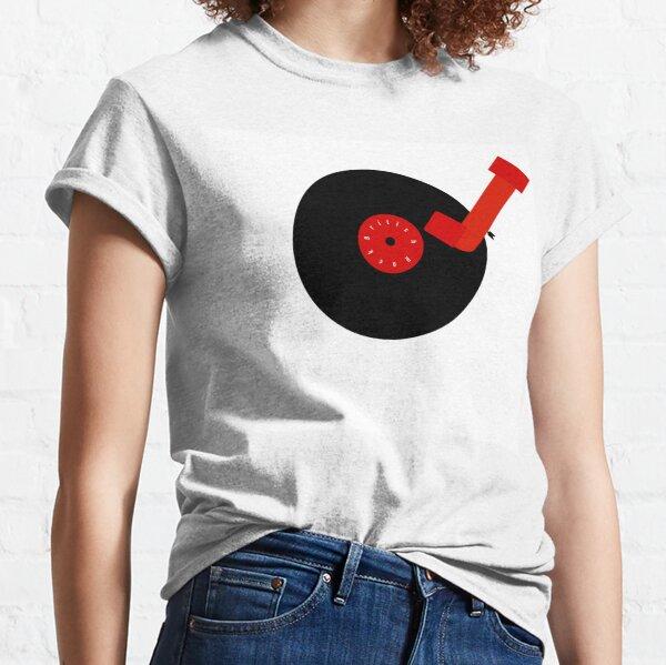 British Rock-Vinyl LP-Turntable Classic T-Shirt