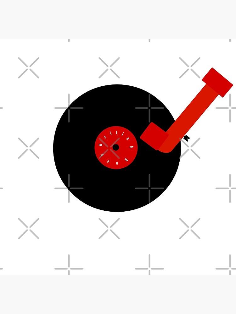 British Rock-Vinyl LP-Turntable by Matlgirl
