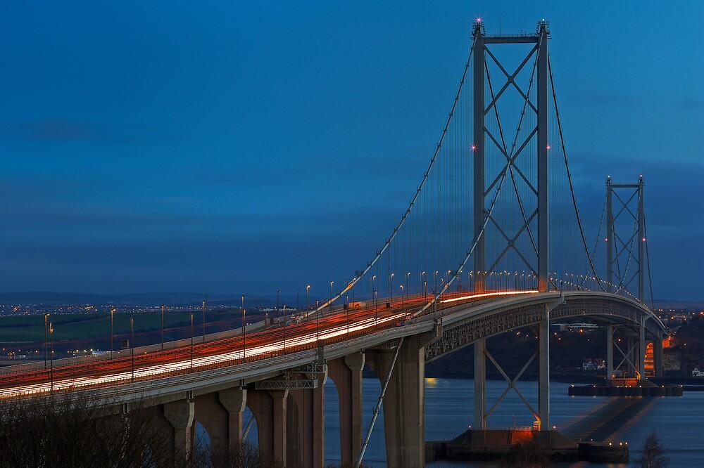 Forth Road Bridge (1) by Karl Williams