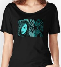 Star City Girl Blue Women's Relaxed Fit T-Shirt