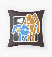 Portal Hug Throw Pillow
