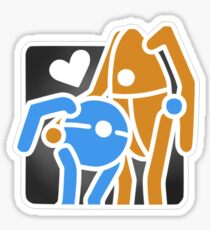 Portal Hug Sticker